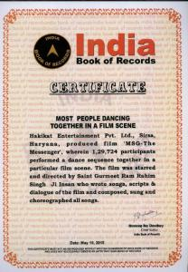 Most People Dancing in Film Scene(19 May ,2015)